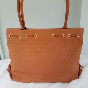 Dooney & Bourke Bags - DOONEY &  BOURKE Signature Canvas Tote Terracotta